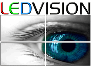 LEDvision logo