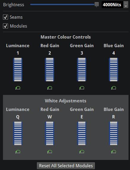 OSCA Module Adjustment Tab