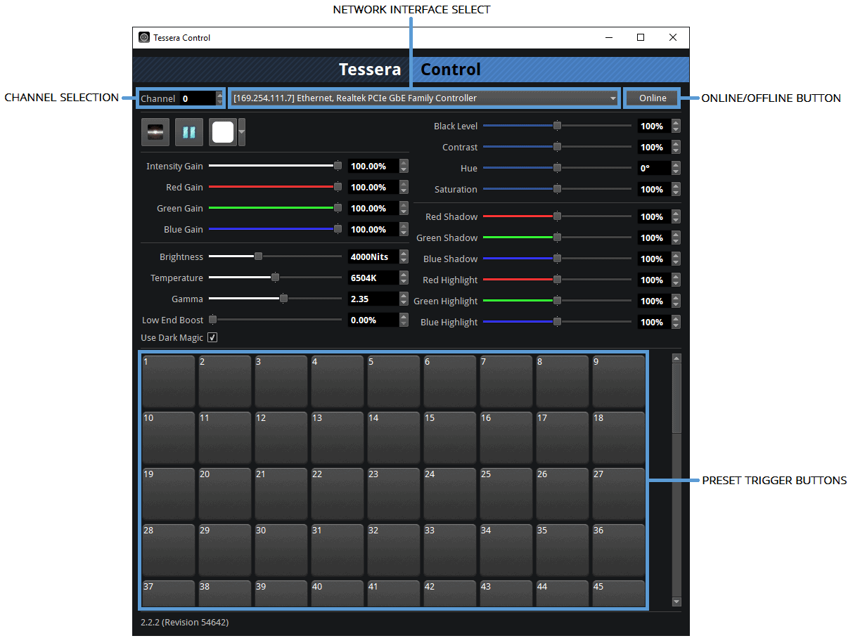 Brompton Technology Tessera Software