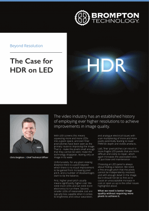The Case for HDR on LED by Chris Deighton