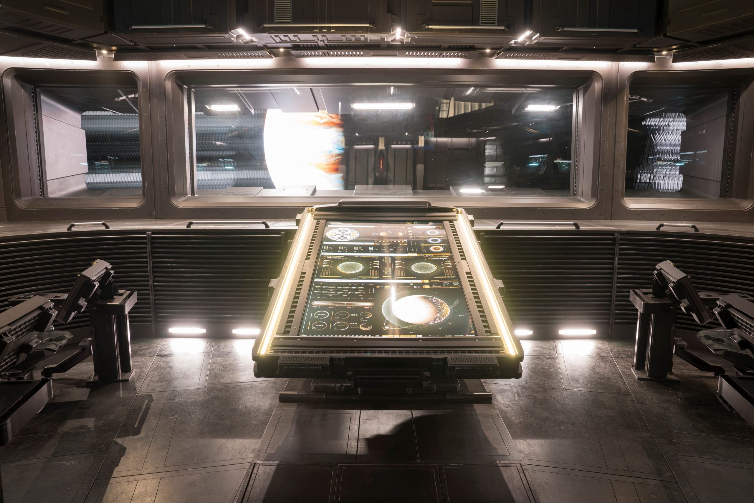 Nightflyers, Photo: Jonathan Hession / USA Network - Virtual Production: High Res