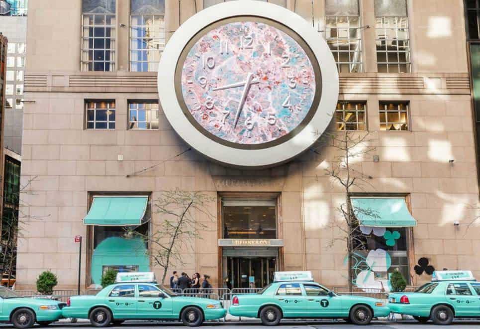 Tiffany Clock