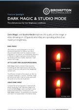 Brompton Tech - Dark Magic & Studio Mode Datasheet Thumbnail